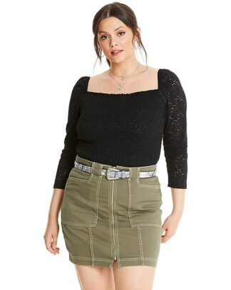 Glamorous Curve Lace Bodysuit