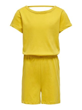 ONLY Striped Playsuit Women Yellow