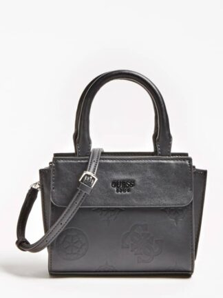 Guess Mini Me Embossed Logo Handbag