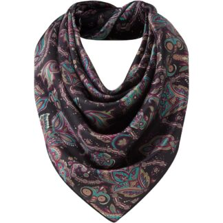 Schoffel Womens Silk Scarf Peacock One