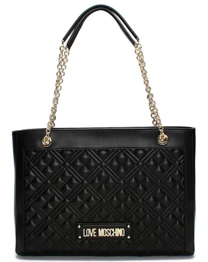 Love Moschino Diamond Quilt Tote Bag