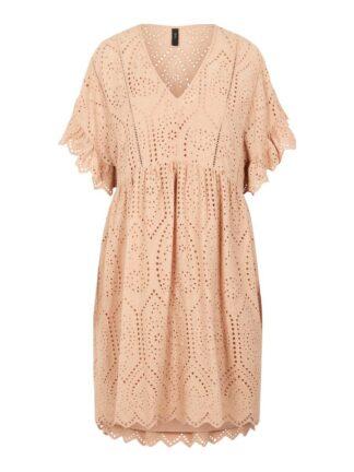 Y.A.S Yasrose Broderie Dress Women Pink